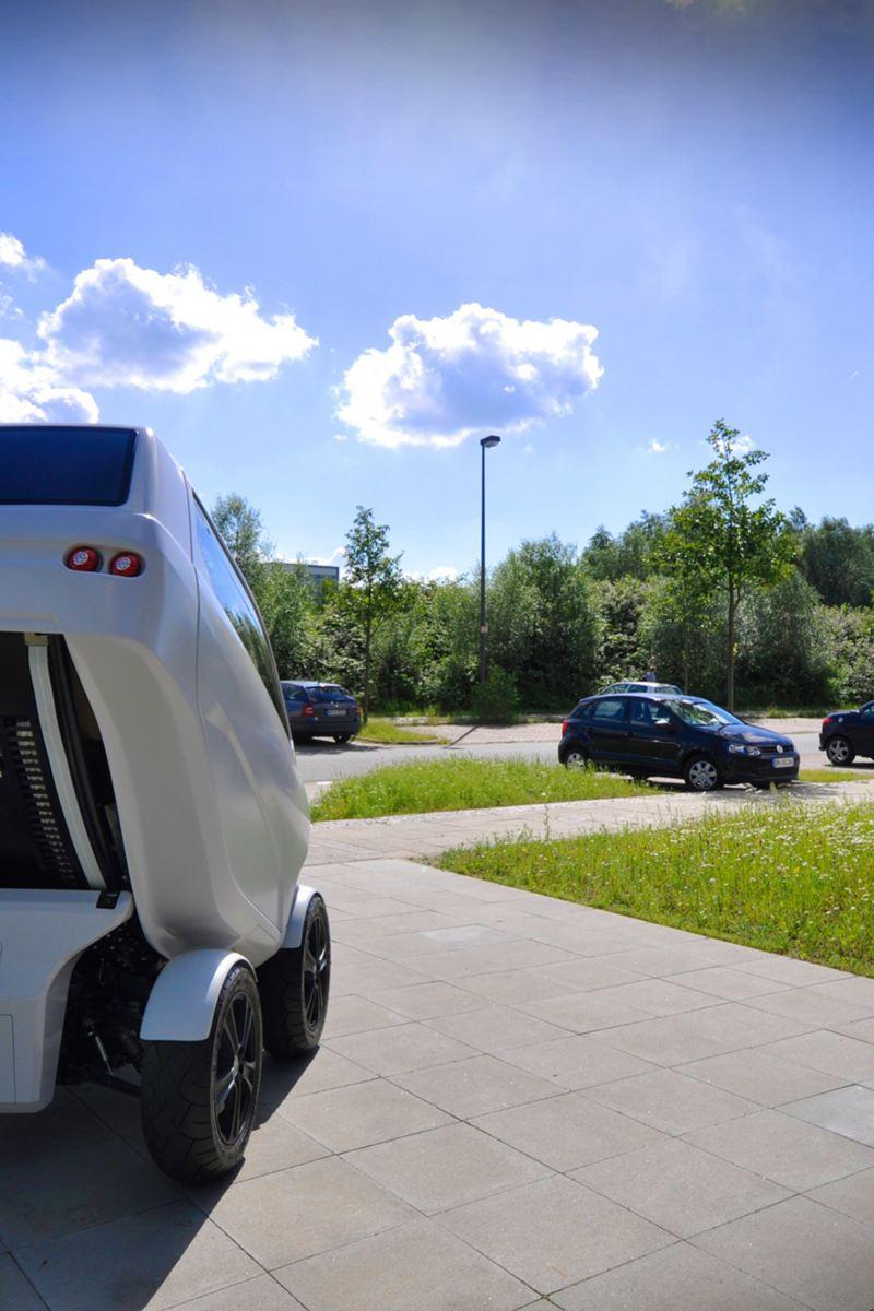 DFKI elektryczne składane auto