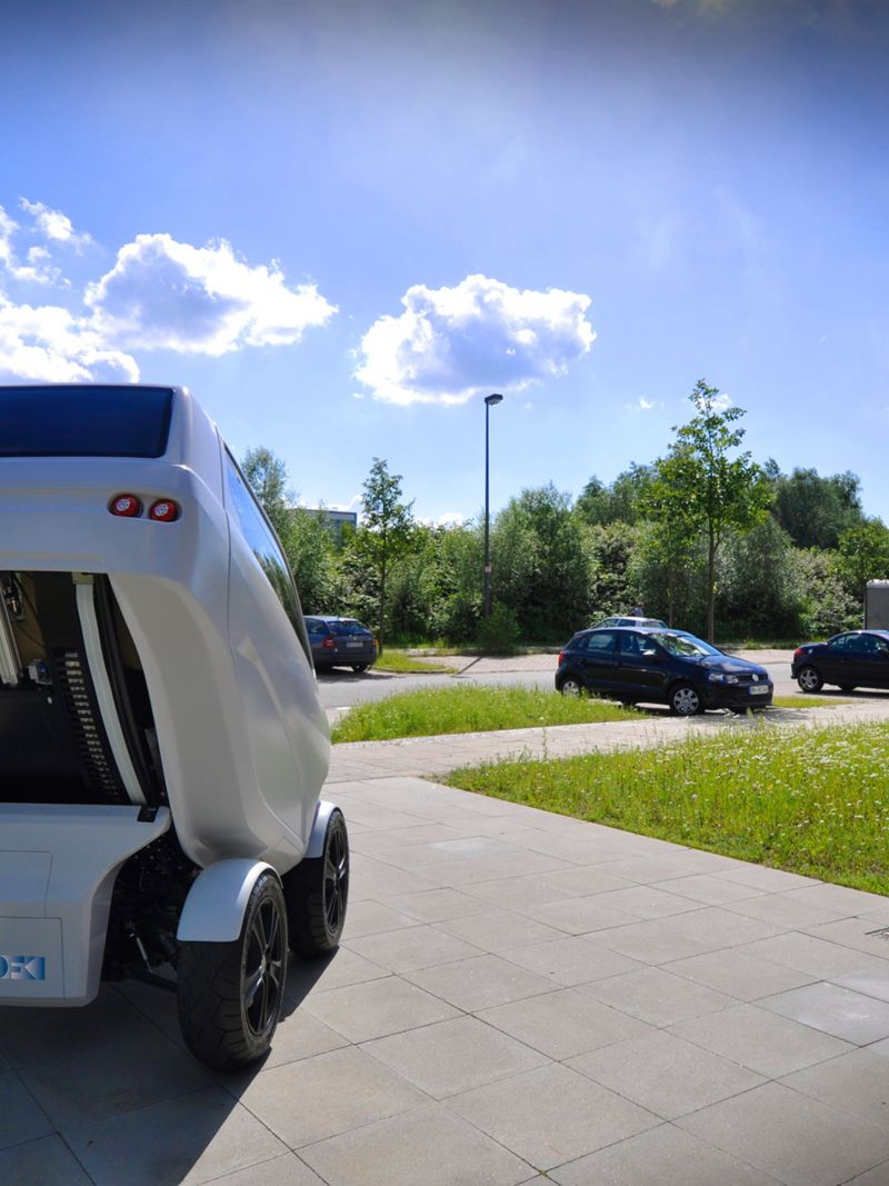 "The ""DFKI"" folding electric vehicle"