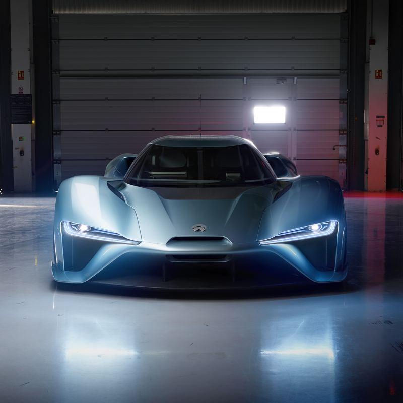 "Der Elektroauto-Sportwagen ""NIO EP9"""