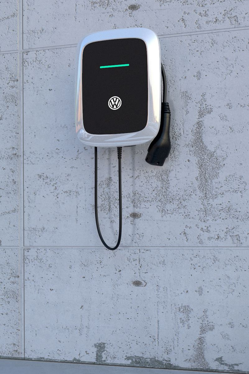 E-Auto laden mit Wallbox von Volkswagen