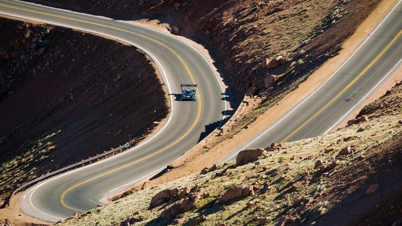 VW ID. R Pikes Peak beim Bergrennen