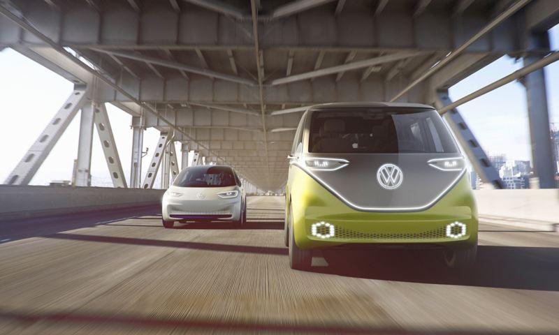 Volkswagen Elektroautos ID. Familie