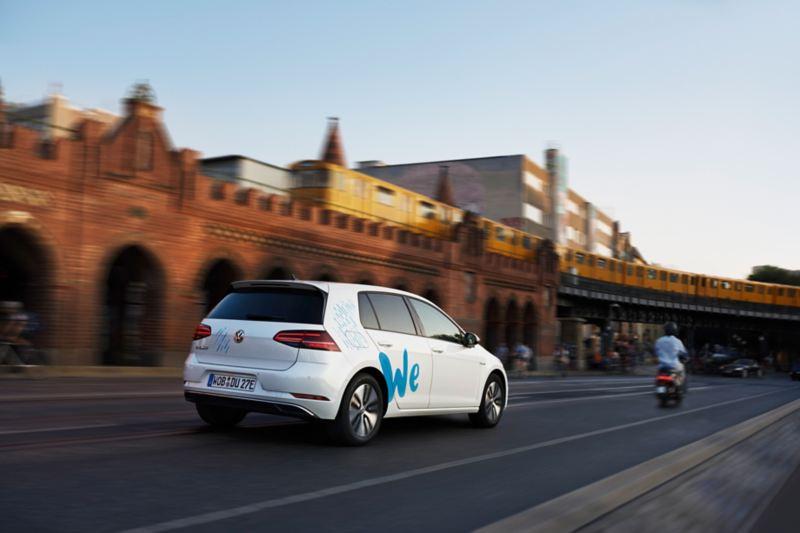 Noleggio di auto elettriche Volkswagen We Share