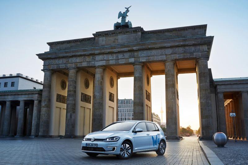 Car sharing Volkswagen con auto elettriche a Berlino