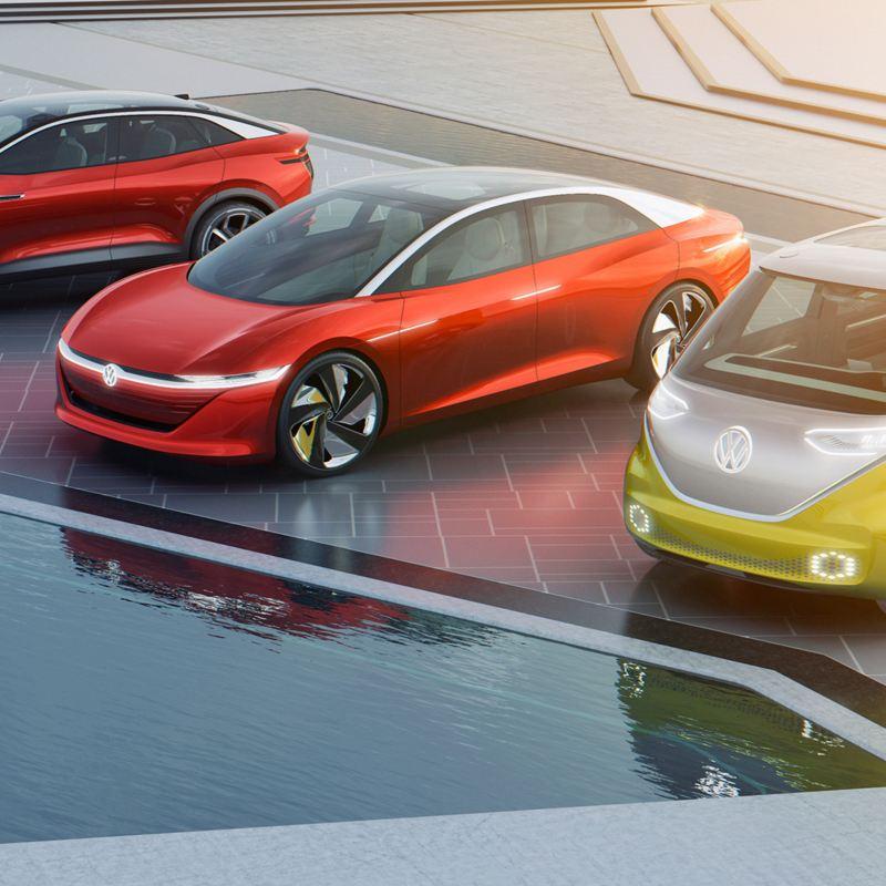 Auto elettriche della famiglia ID. Volkswagen