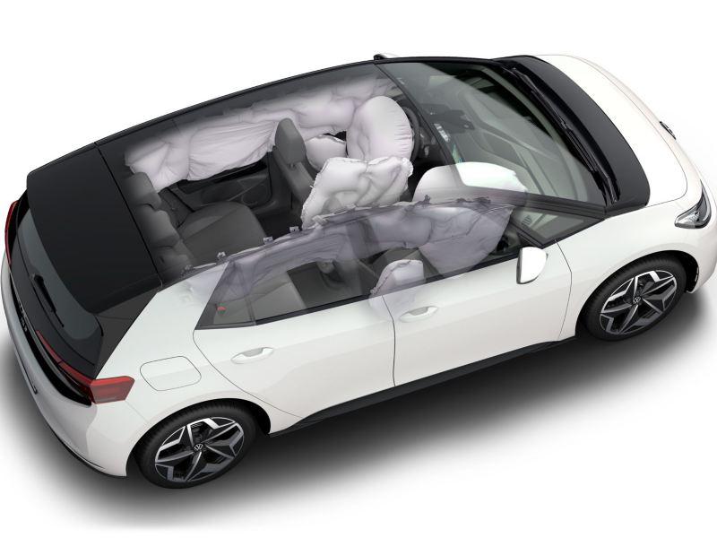 5 stjerner i sikkerhetstest Euro NCAP VW Volkswagen ID.3