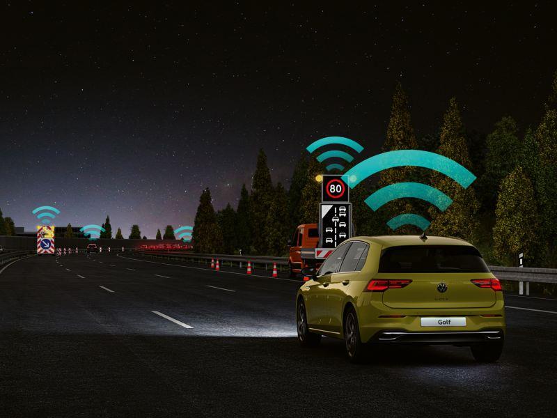 Volkswagen Golf 8 IQ drive