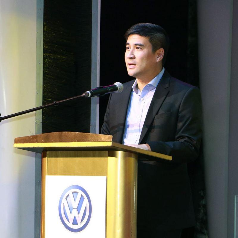 Volkswagen PH's new President