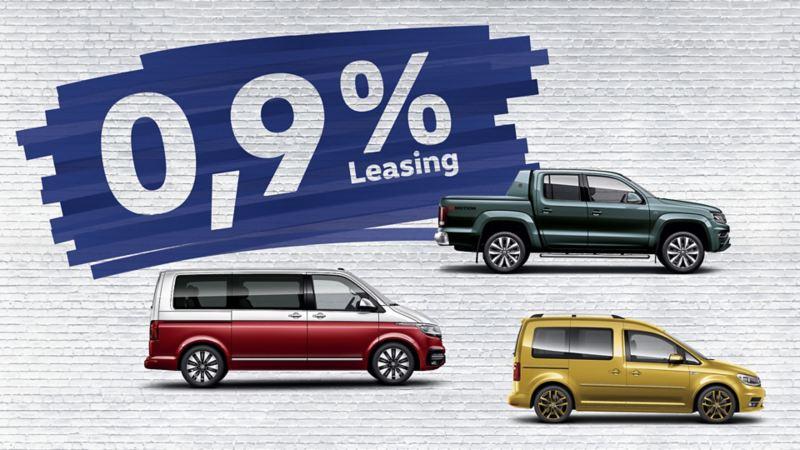 VW Nutzfahrzeuge 0,9% Leasing