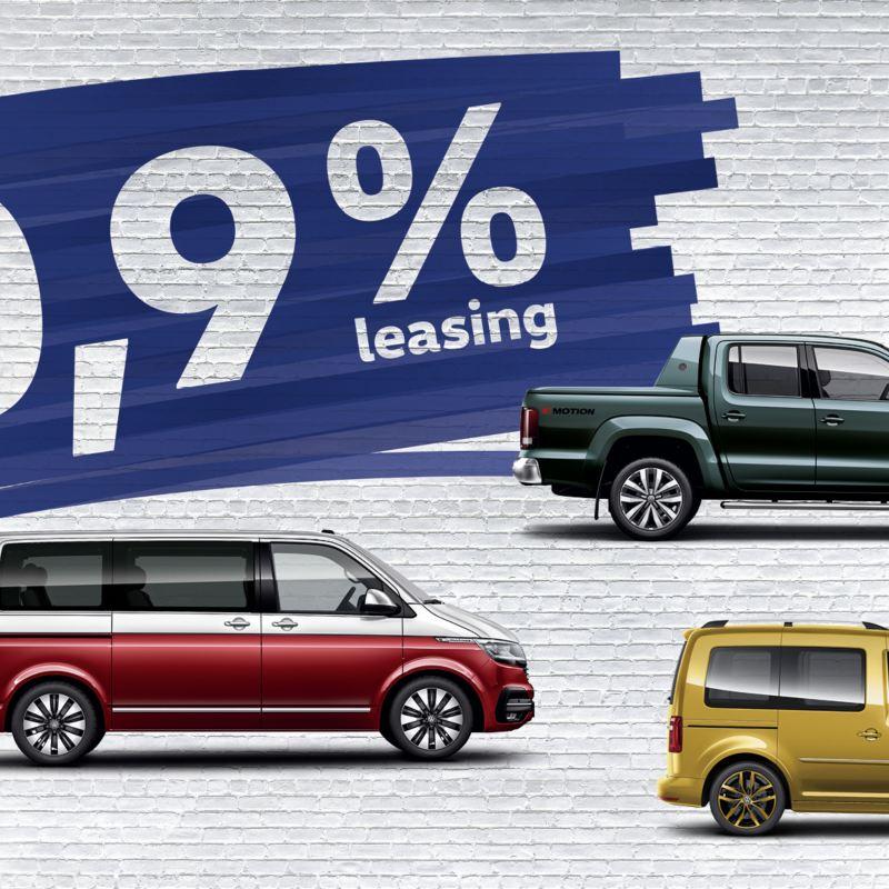 VW Veicoli Commerciali 0,9% Leasing