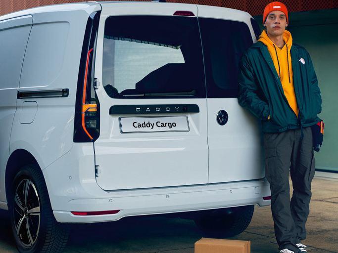 vw Volkswagen nye Caddy 5 Maxi varebil familiebil verdenspremiere interiør