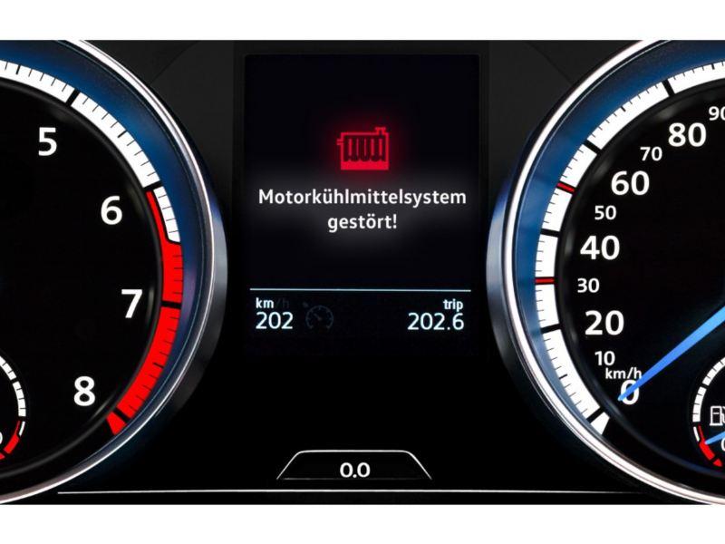 Volkswagen 引擎冷卻水系統故障