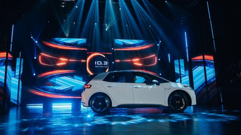 VW ID.3 nello stage evento