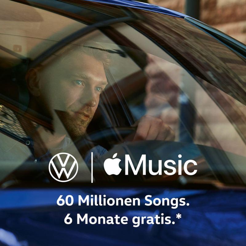 Volkswagen und Apple Music