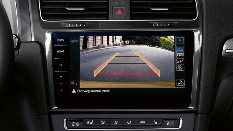 Volkswagen backkamera, Rear Camera