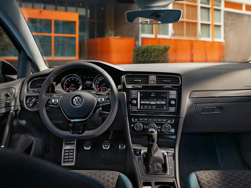Cockpit de la Golf IQ.DRIVE.