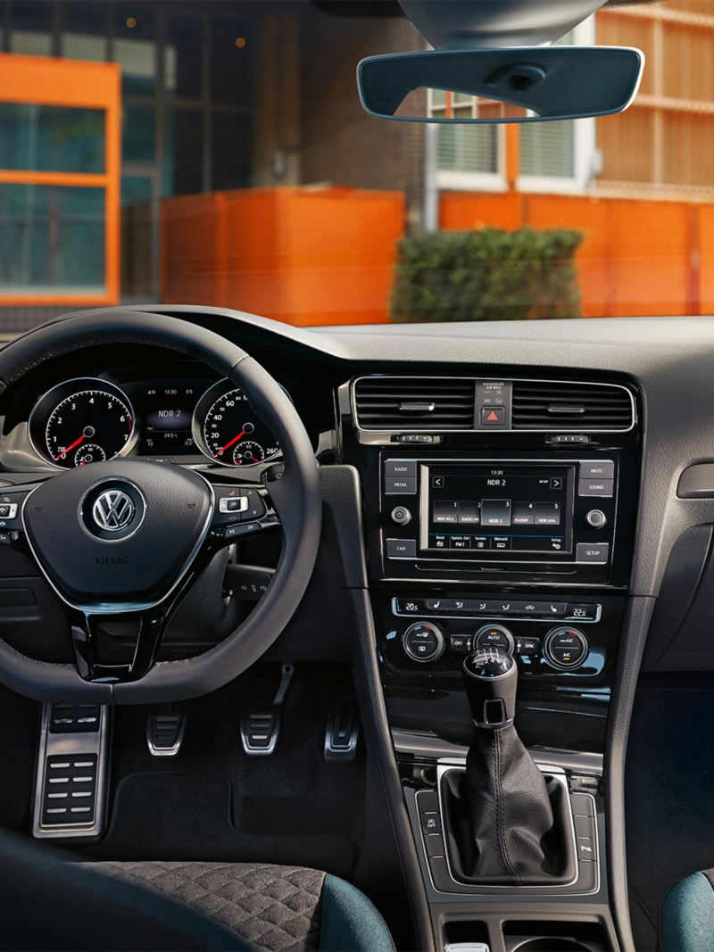 Kokpit Golfa IQ.DRIVE