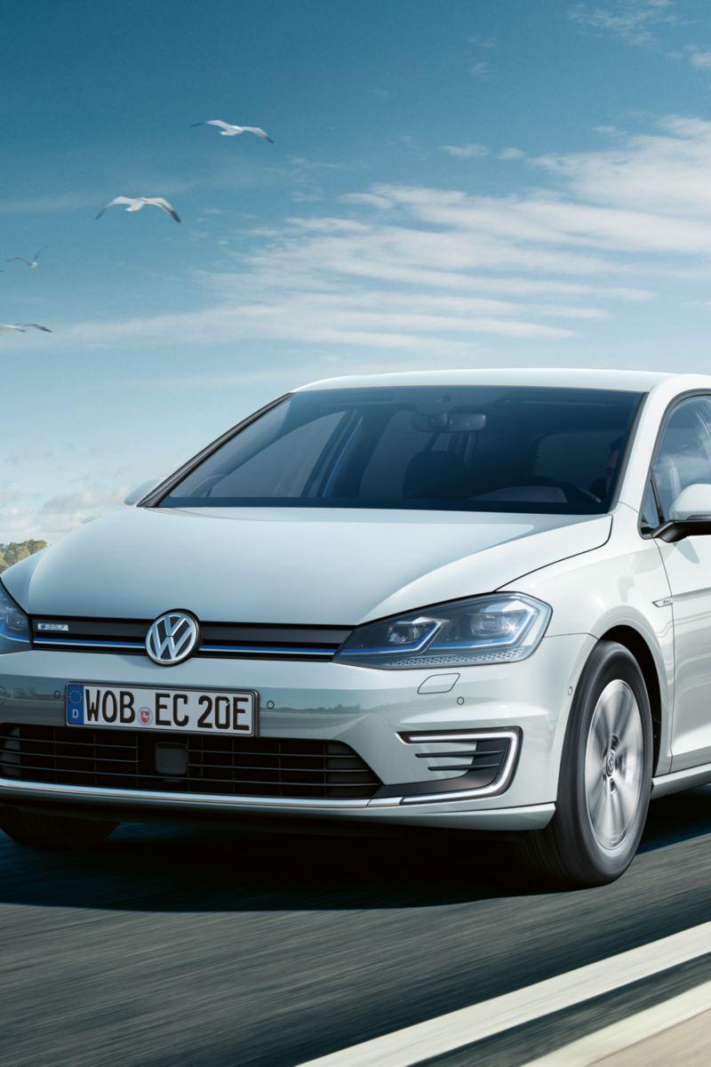 Rijdende VW e-Golf