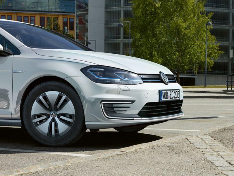 Front des VW e-Golf