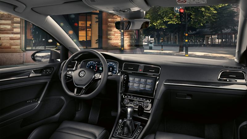 Interior VW Golf Estate Highline