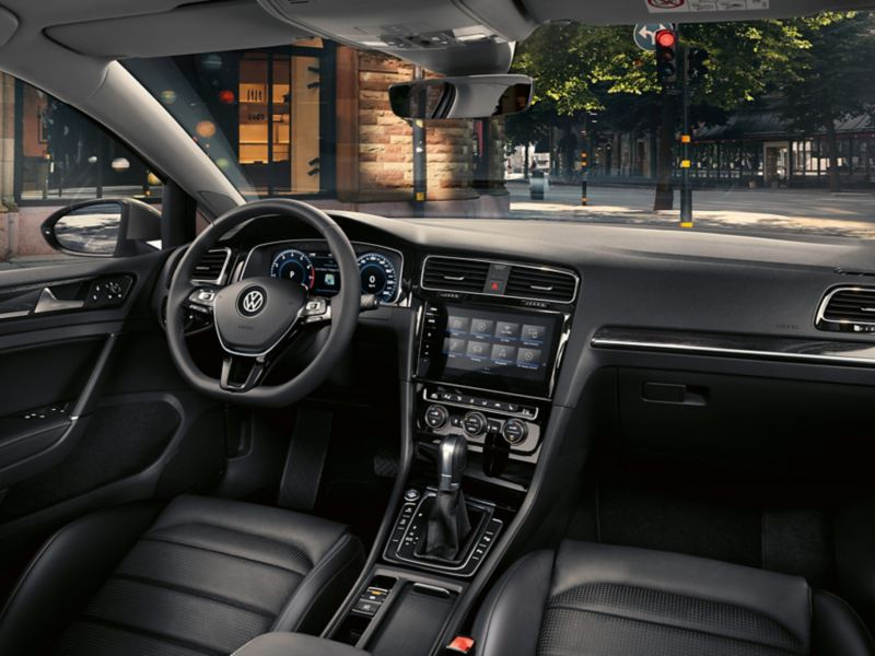 Interni di Volkswagen Golf Variant Highline