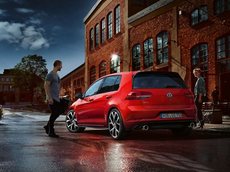 Il posteriore di Golf GTI Performance