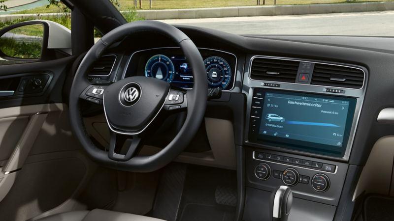 Πίνακας οργάνων και Cockpit του Volkswagen  e-Golf