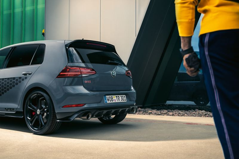 VW Golf GTI TCR rear view