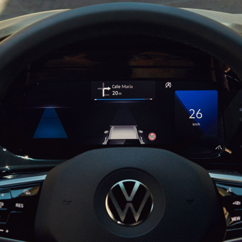 VW Golf Digital Cockpit