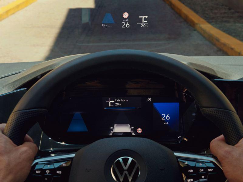 Head-up Display im Golf GTD
