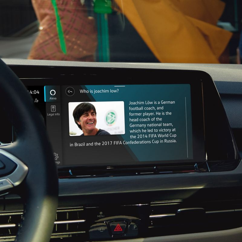 We Connect - Commande vocale avec l'In-Car App Amazon Alexa