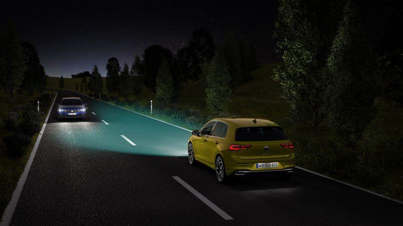 Light Assist - Hilfreiche Fernlichtregulierung für Nachtfahrten