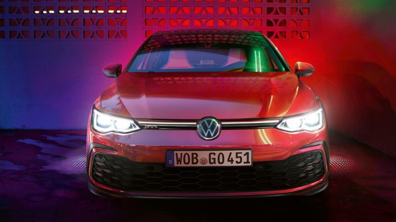 VW Golf GTI Frontansicht mit IQ.LIGHT