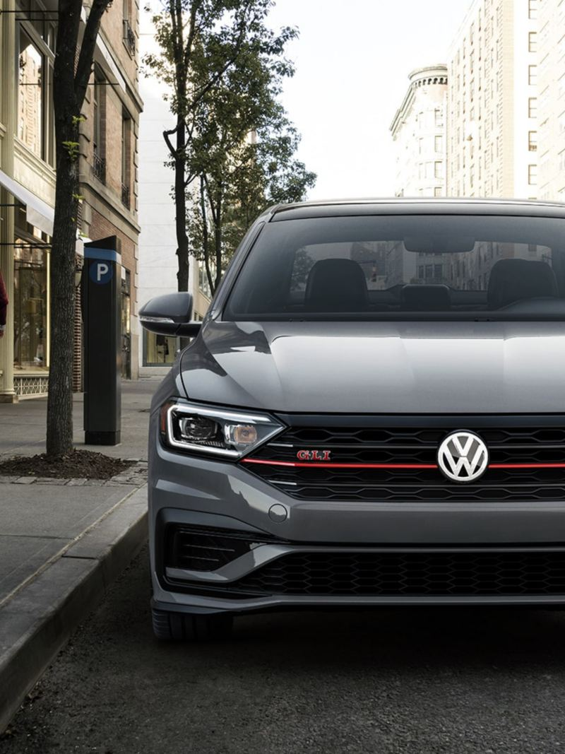 The Jetta GLI looking good on the street downtown