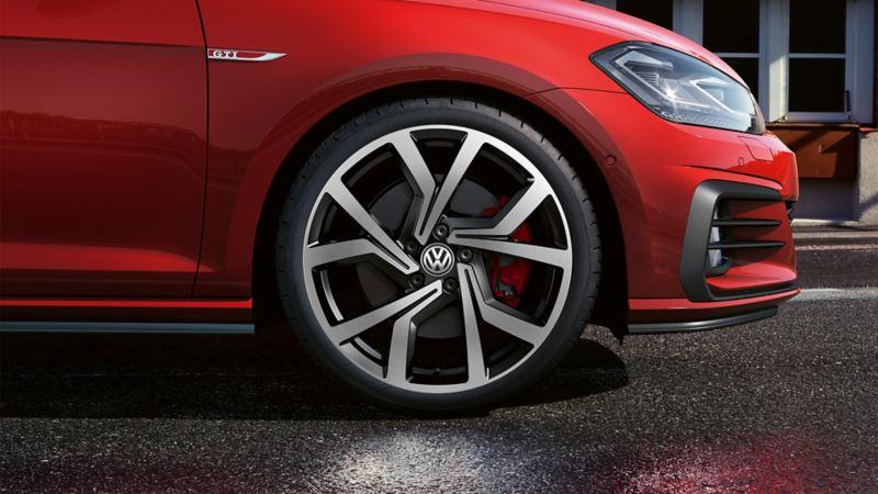 """Cerchi in lega leggera """"Brescia"""" 7,5 J x 19 """" , Volkswagen R"""