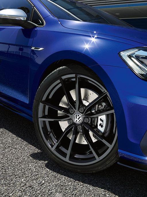 Dettagli allestimento R Line Volkswagen.