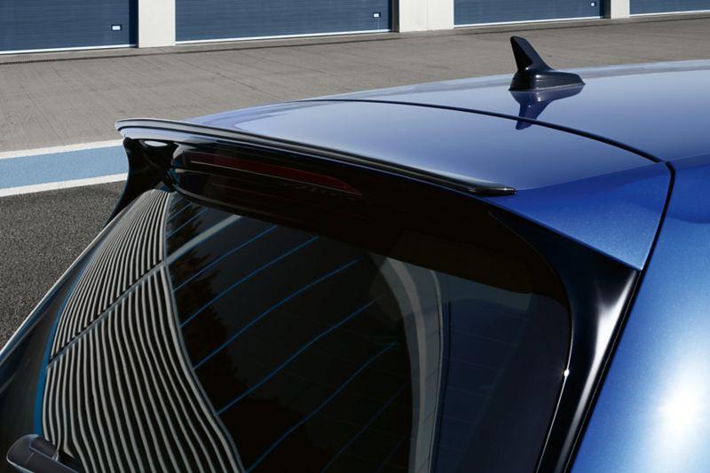 Vista del portellone posteriore di Golf