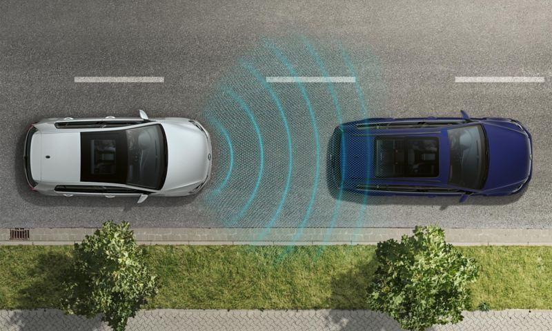 Adaptive Cruise Control - Controllo velocità di crociera adattivo Nuova Golf Variant - Volkswagen