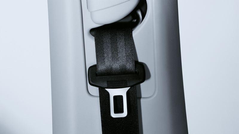 Abbildung des Sicherheitsgurts in einem VW Golf