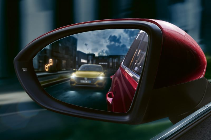 Golf Sportsvan Side mirror with Blind Spot Sensor