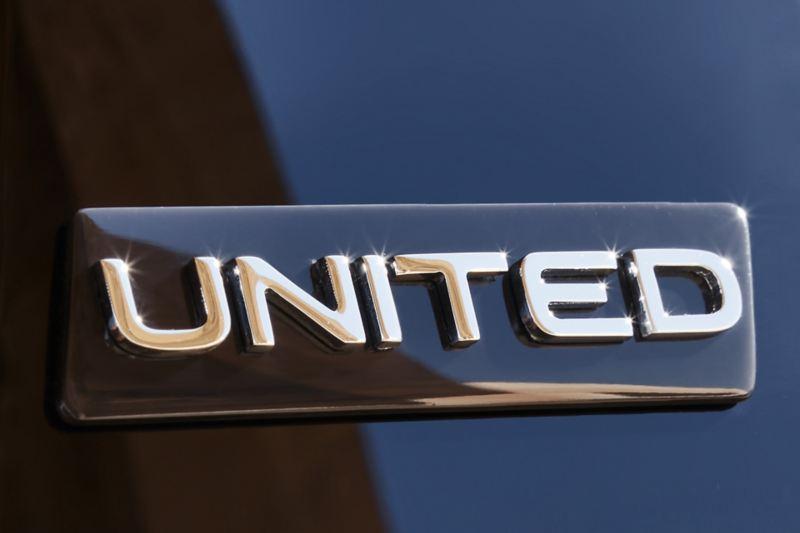 VW UNITED Badge