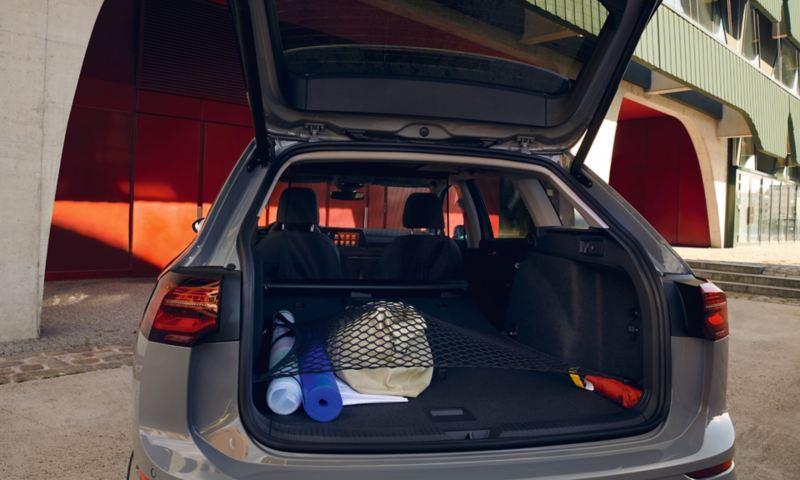 Bagageutrymmet i Volkswagen Golf Alltrack