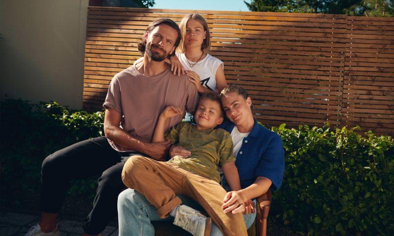 Family, target group for Golf Variant