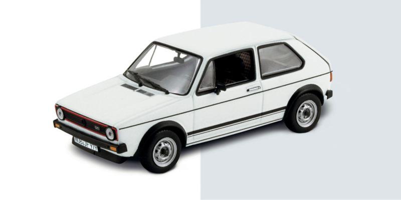 Modellino VW Golf GTI