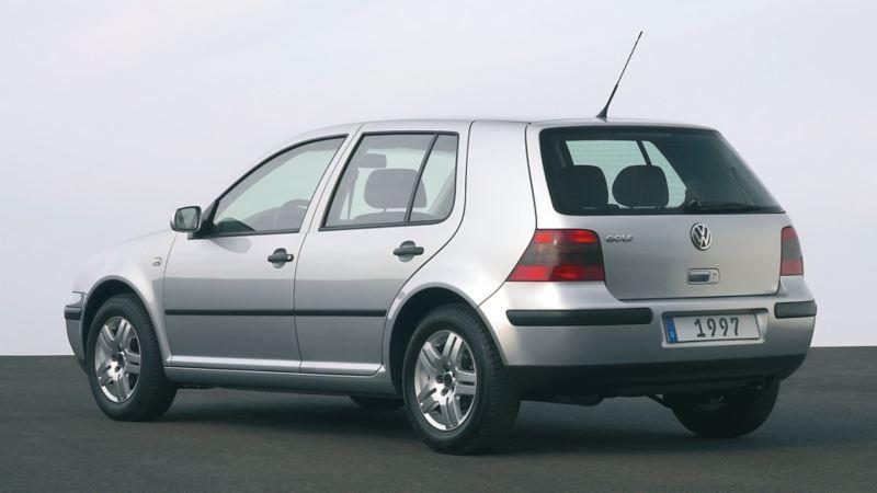 Posteriore Golf iV argento