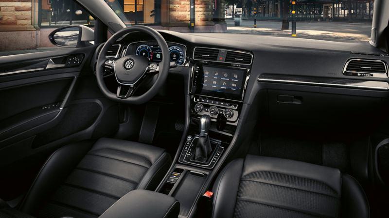 interni Golf 7 2017 infotainment cockpit