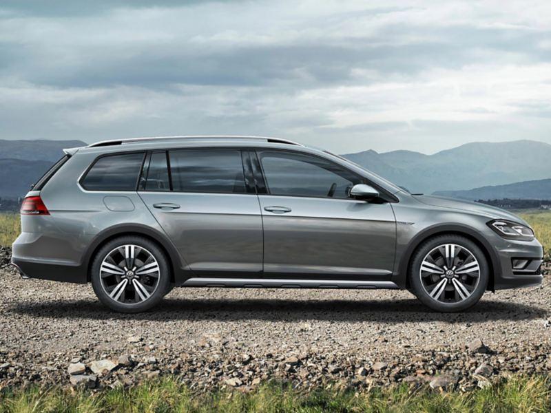 La VW Golf Alltrack vue de profil