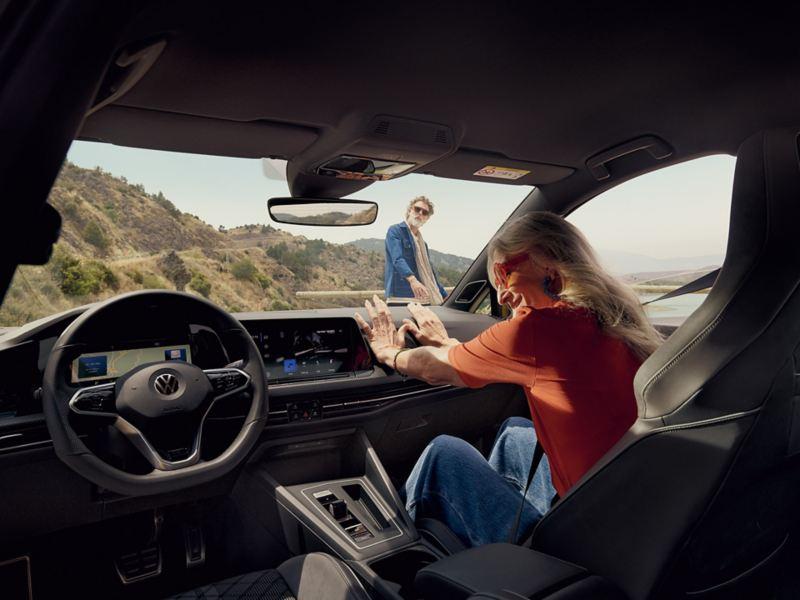 Volkswagen Golf 8 interni