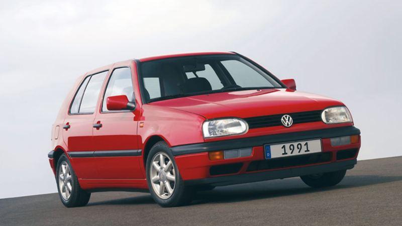 Golf III 1991 rossa