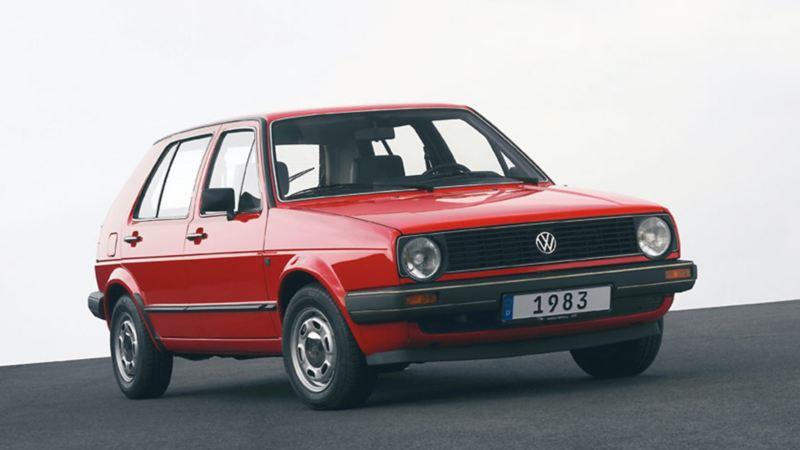 Golf II 1983 rossa